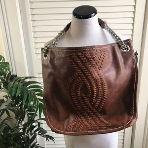 Brown Handbag Large Tote